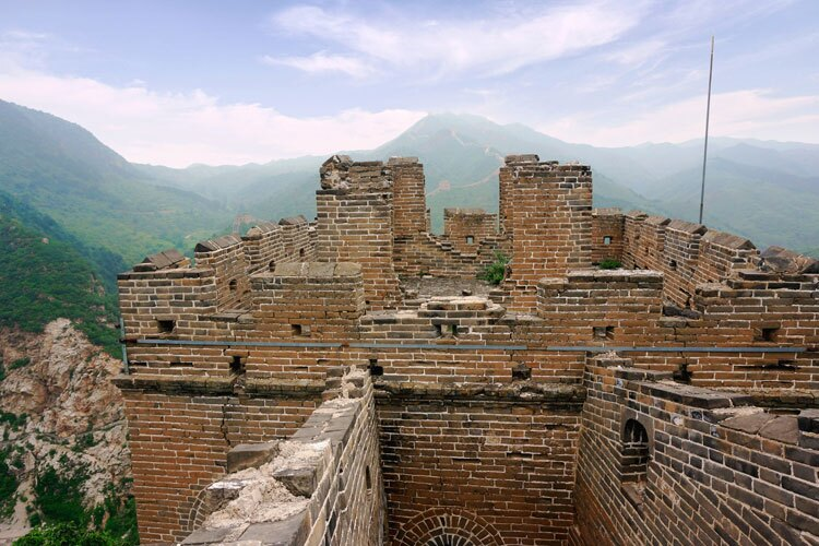 corner of the Great Wall