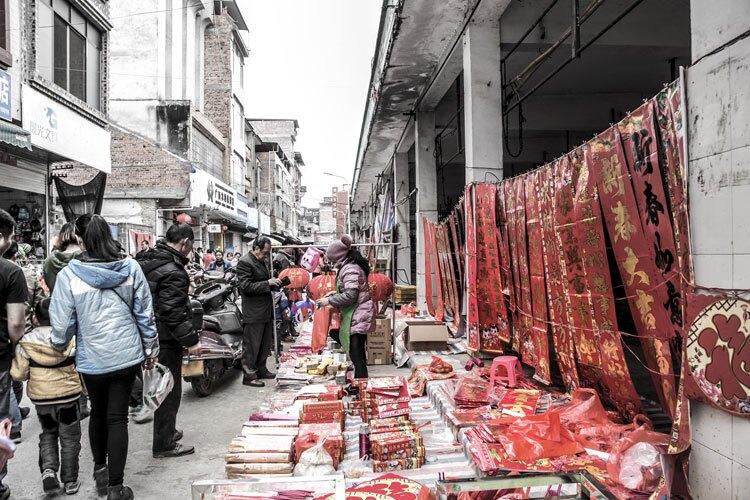 new year market