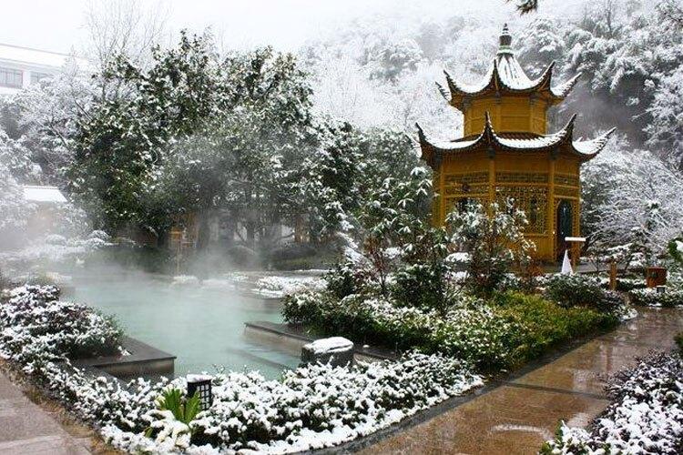 Hotspring in Huangshan