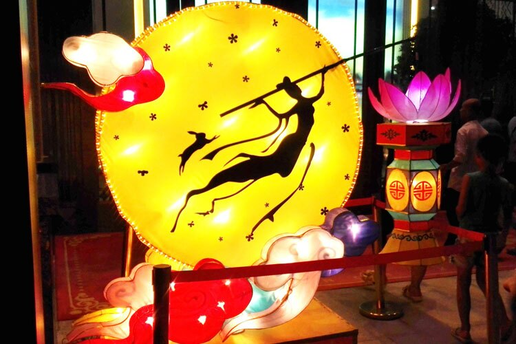 Chang'Emid autumn festival tradition