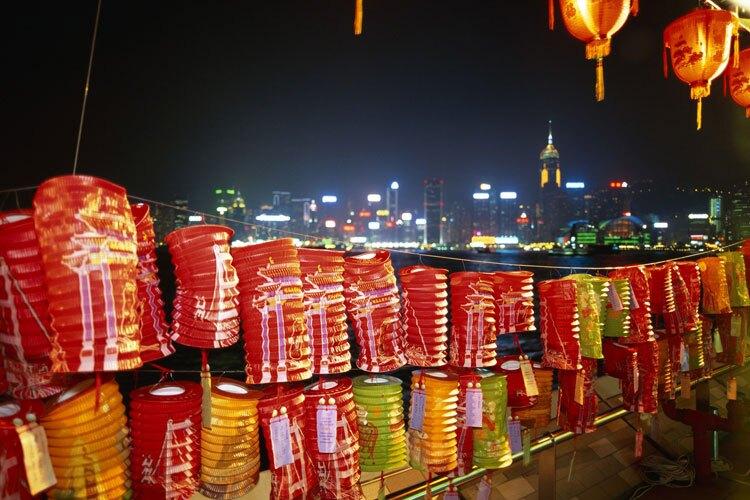 mid autumn festival in Hongkong