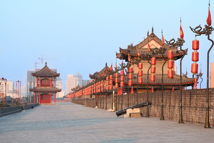 Xi'an Ancient City Walltest