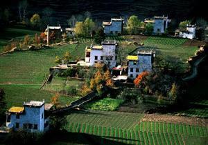 Danba Tibetan Stockade Village