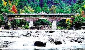 Traditional design and practices for building Chinese wooden arch bridges