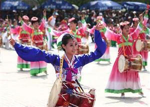 Farmers Dance of China Korean Ethnic Group