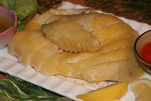 Baiqie Chicken (sliced Boiled Chicken)