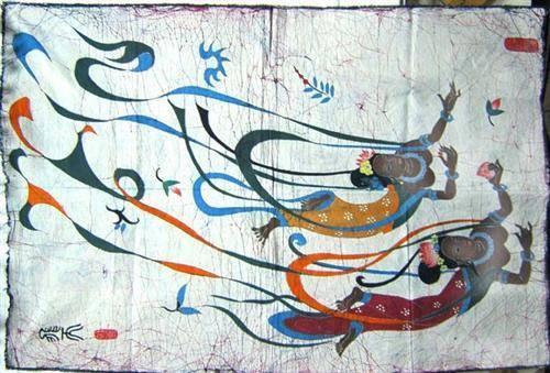 Dunhuang Wax Printing
