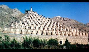 108 Pagodas at Qingtongxia