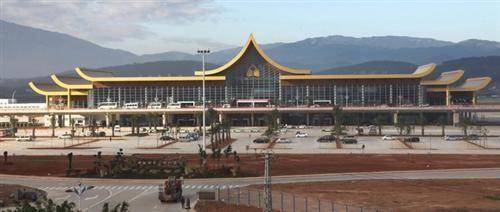 The New Airport of Xishuangbanna