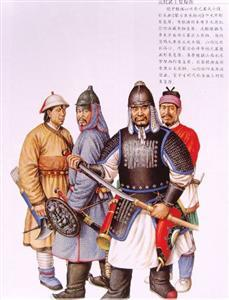 warriors of Yuan Dynasty