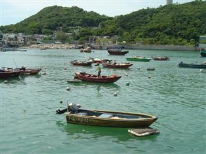 Yung Shue Wan on Lamma Island