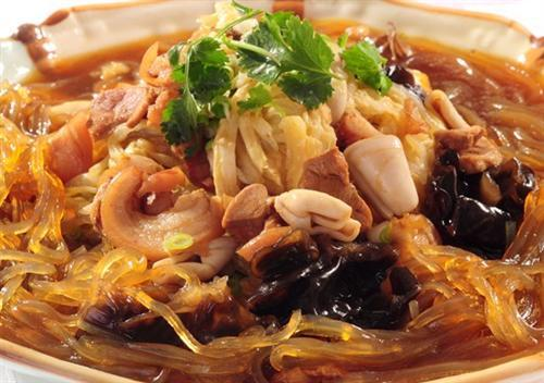 Stewed Pork with Vermicelli