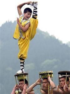 Shaolin Kung Fu performance