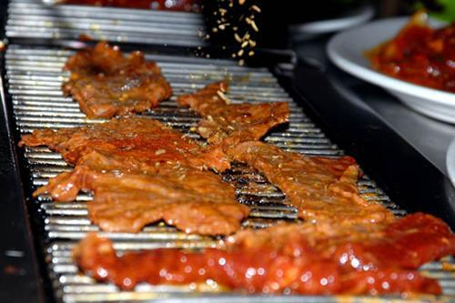 Genghis Khans Favourite Sizzling Meat