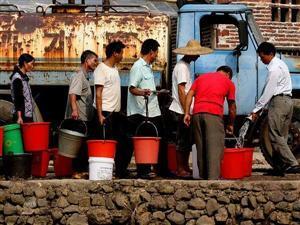 Shortage of Water Supplying