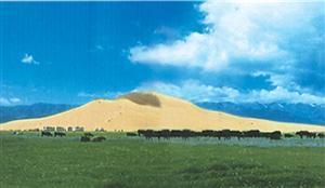 Mingsha Mountain in Hami