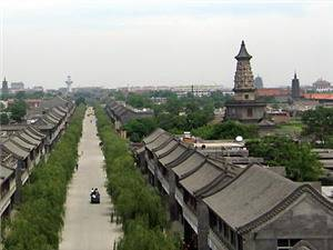 Longxing Temple in Zhengding County