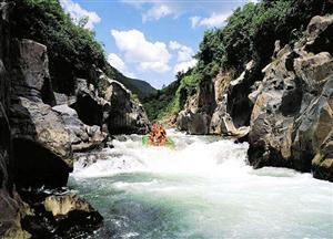 Zijiang River Rafting