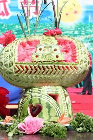 Jincheng Babao Melon Carving