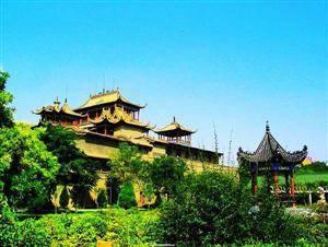 Zhongwei Gaomiao Temple
