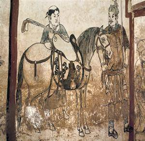 Annt frescos in the tumulus of Liao Dynasty of Kulun Qi