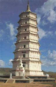 Buddhist tower of Yuan Dynasty in Kailu County