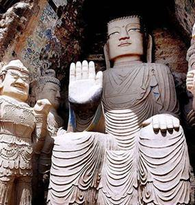Tiantishan Mountain Grottoes