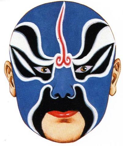 Qin Opera Mask
