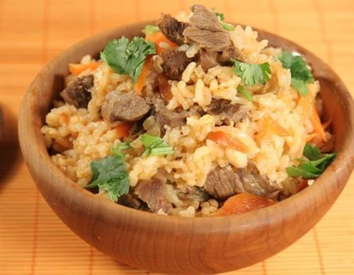The Flavored Rice With Lamb