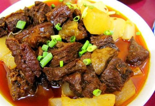 Braised Beef In Brown Sauce