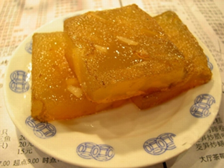 Pantang Water Chestnut Cake