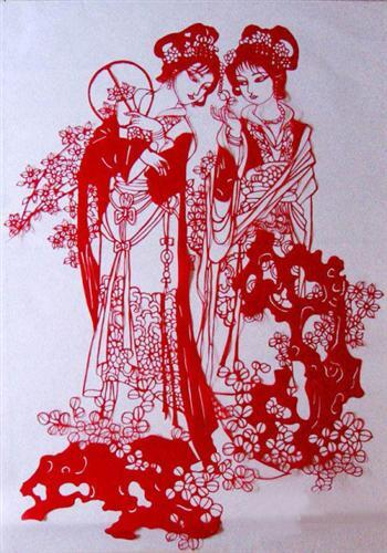 Zhangye Paper Cut