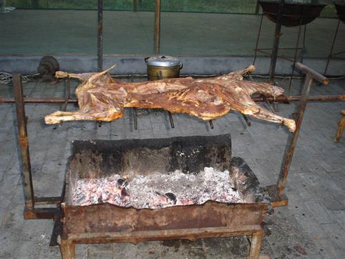 Roast Whole Lamb