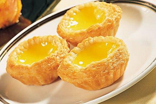 Portuguese Style Egg Tart