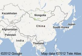 Chinese Geographical Map Reference
