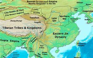 China at the time of Eastern Jin Dynasty 317-420AD