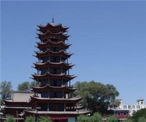 Iron Tower of Chongjue Temple