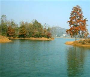 The Zhenfeng Sancha lake