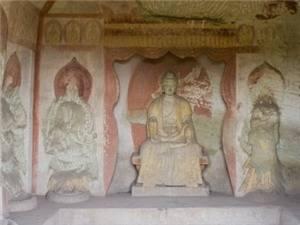 Tianlongshan Grottos