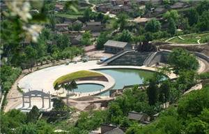 Jingchuan hot spring