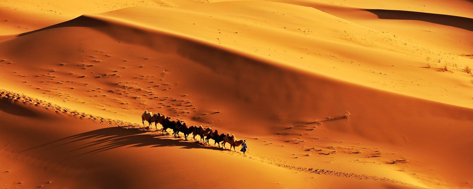 Desert along the Silk road