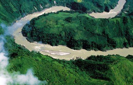 The Grand Brahmaputra Canyon