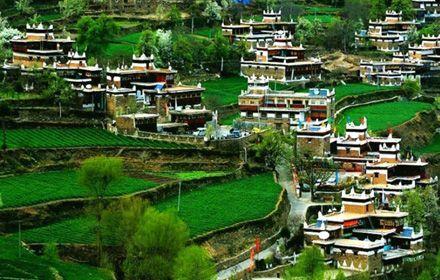 Danba Tibetan Village