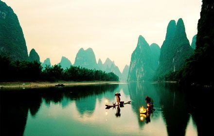 The famous Li River Cruise