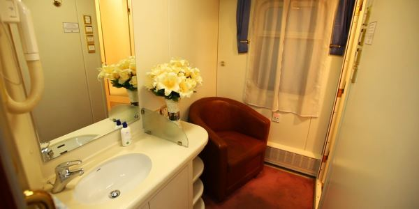 The Bathroom on Shangri-La Express Train