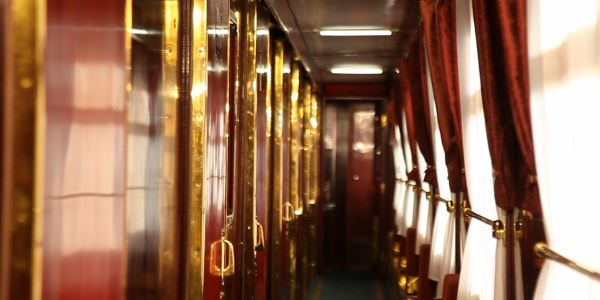 The Hallway on Shangri-La Express Train