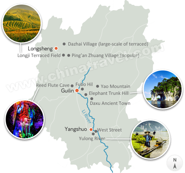 Guilin Travel Guide Guilin Li River Cruise Guilin Landscape Travel