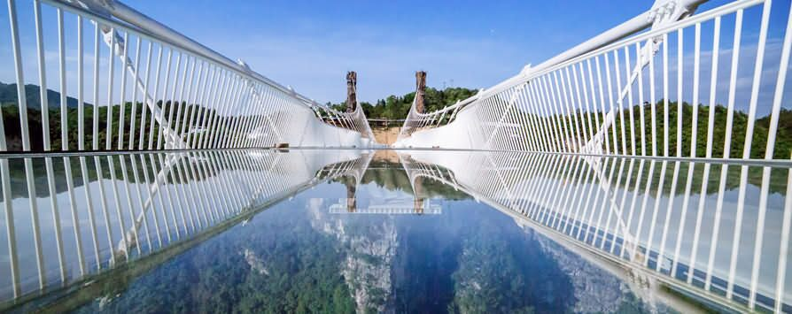 zhangjiajie glass bridge - Zhangjiajie Glass Bridge