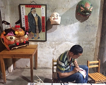 Handicrafts Learning in Daxu Town