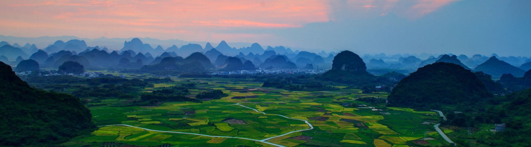 Guilin tour in spring